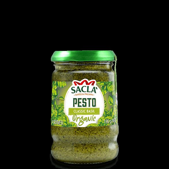 Organic classic basil pesto