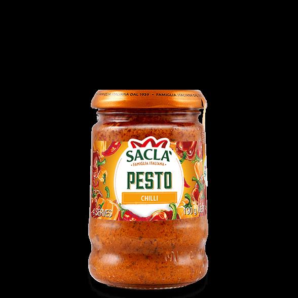 Chilli pesto with pepper