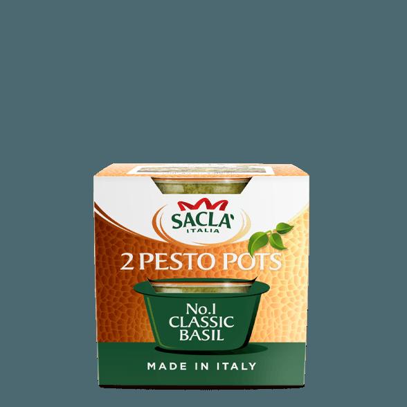 Classic basil pesto (shots)